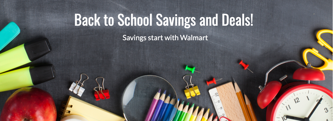 Walmart.com Back to School Sale