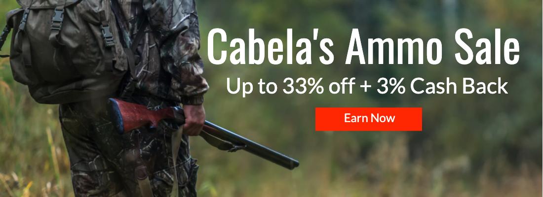 Cabela's Ammo Sale